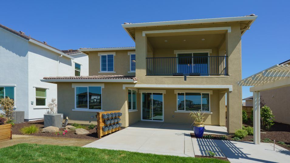 Exterior featured in the Residence 2394 By Lennar in Sacramento, CA