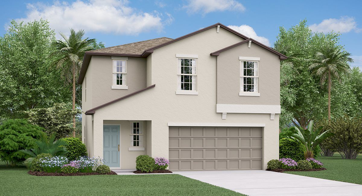 Exterior featured in the Atlanta By Lennar in Tampa-St. Petersburg, FL