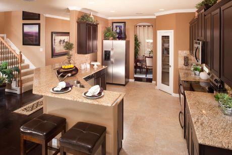 Kitchen-in-Terrazzo-at-Chamberlain Crossing - Brookstone-in-Fate