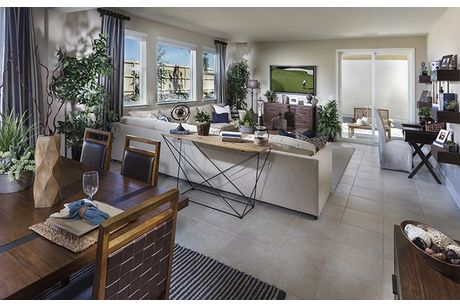 Greatroom-and-Dining-in-The Lucchese-at-Wintercreek at Somersett-in-Reno