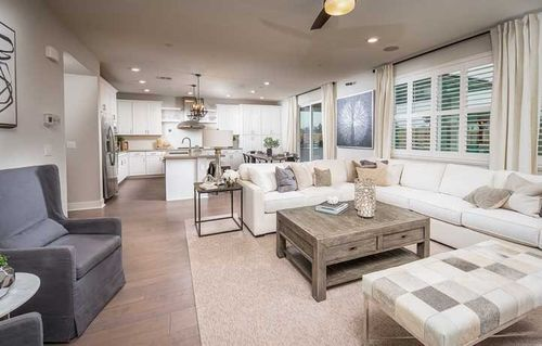 Greatroom-and-Dining-in-The Avenal - Plan 2767-at-Cambria at Fieldstone-in-Elk Grove
