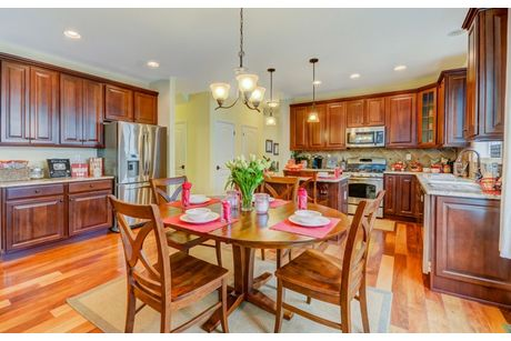 Kitchen-in-Merion-at-Lennar at Lake Ridge, Active Adult-in-Whiting
