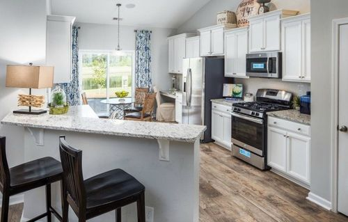 Kitchen-in-Jarvis-at-Sherron Farms - Traditional-in-Durham