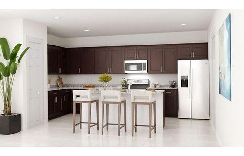 Kitchen-in-Gardenia-at-Los Prados-in-Miami