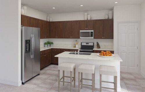 Kitchen-in-Ambrosia-at-Verdana Estates-in-Miami