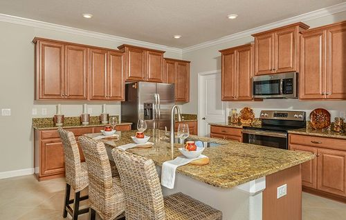 Kitchen-in-Dawning-at-Southern Hills - Southern Hills Cottages-in-Brooksville
