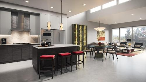 Kitchen-in-Unit 101-at-Three by Lenox-in-Lafayette