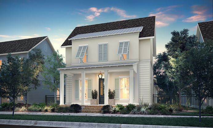 Exterior:ELEVATION B (Available at Americana)
