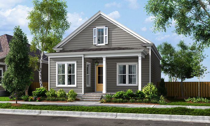 Exterior:ELEVATION A (Available at Americana)