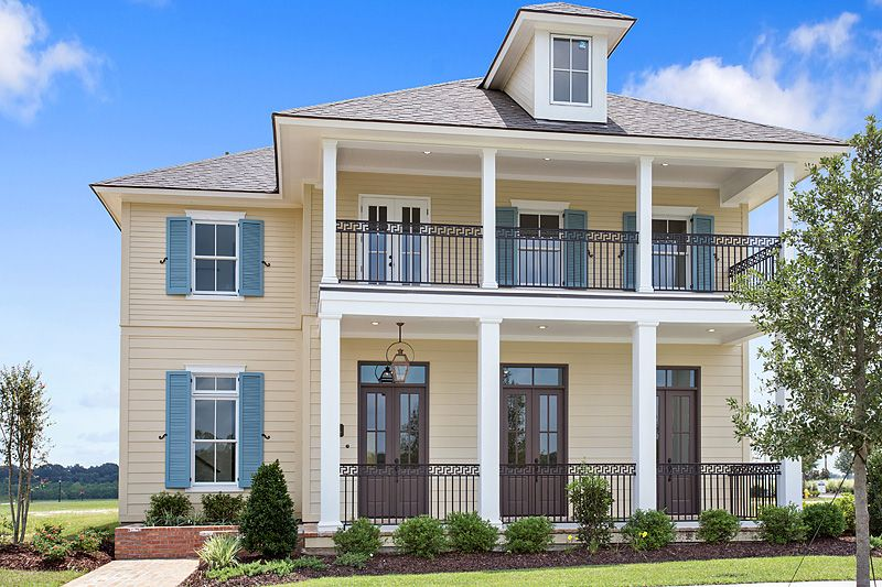 Americana by level homes in zachary la by americana for Americana homes
