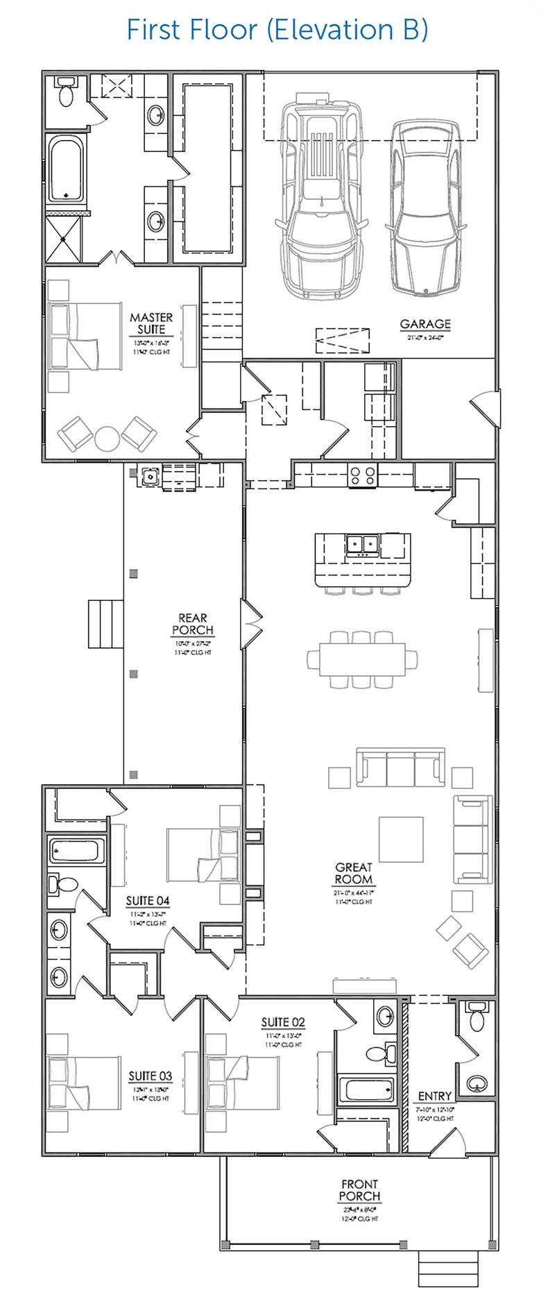 Krauss B Floor Plan