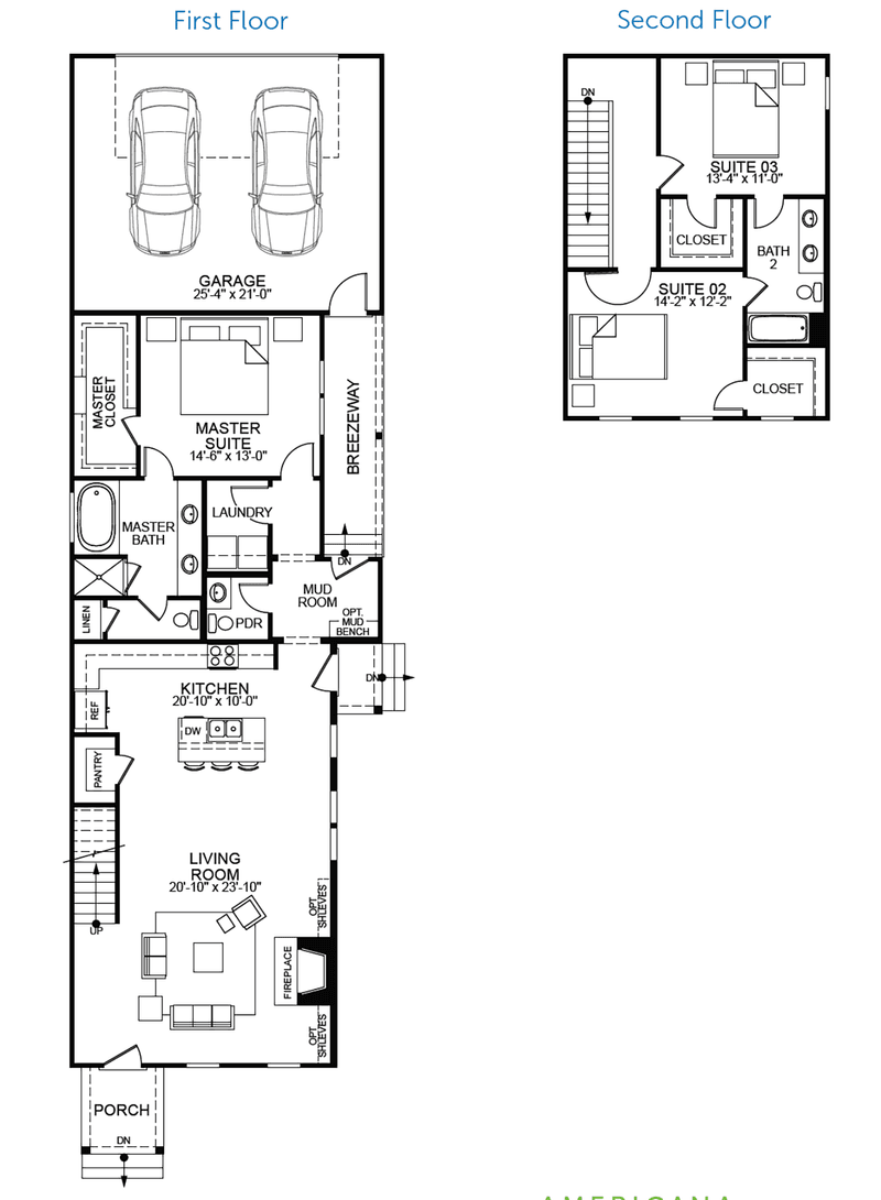 Montclair Floor Plan