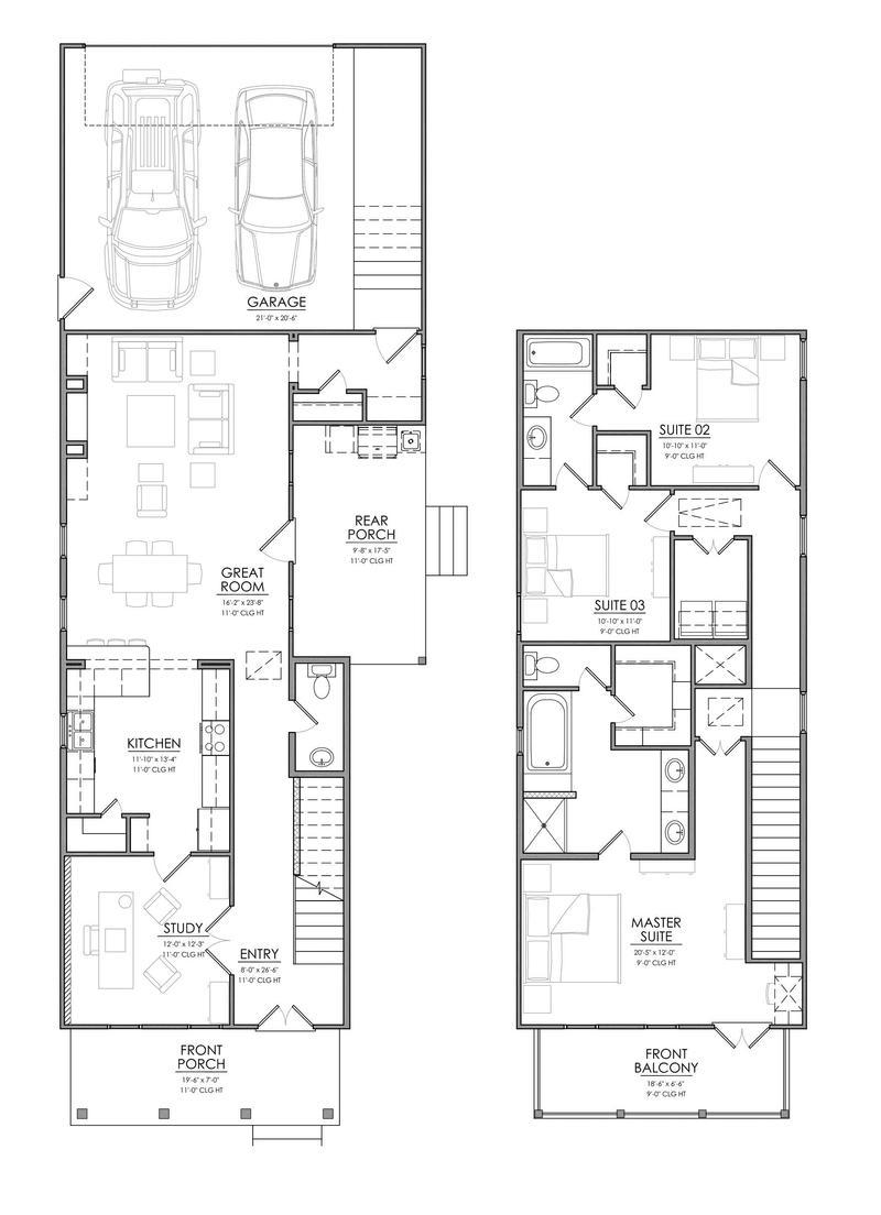 Homesite 38 - RMB Builders Floorplan
