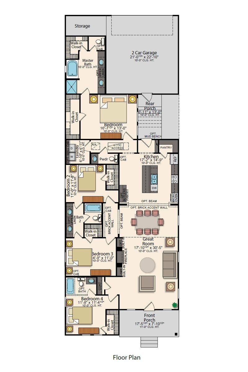 Columbia II Floor Plan