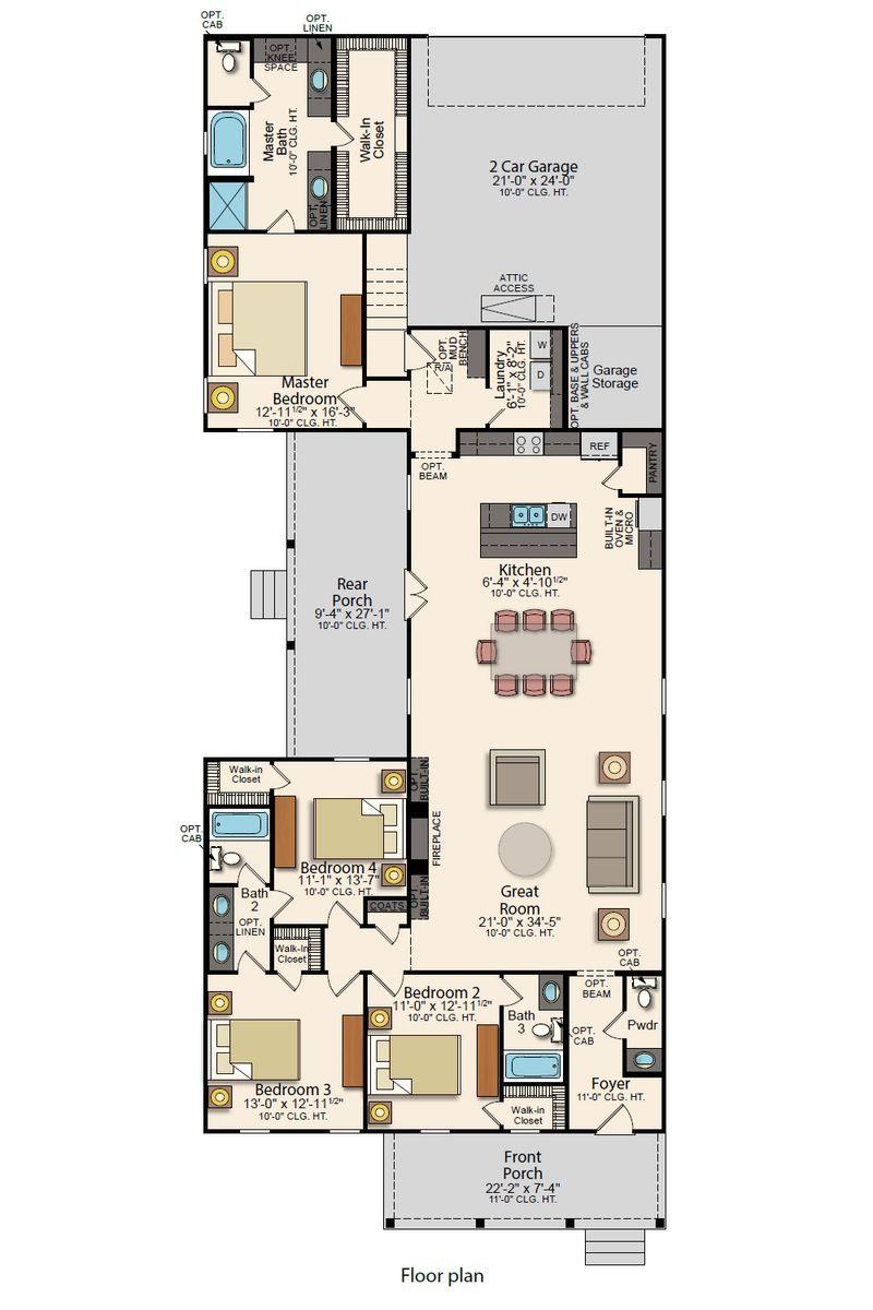 Krauss II Floor Plan