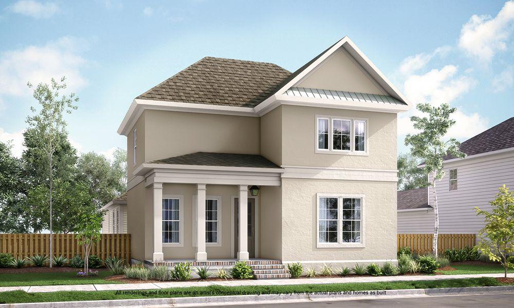 Augusta Ii Home Plan By Americana Development Llc In