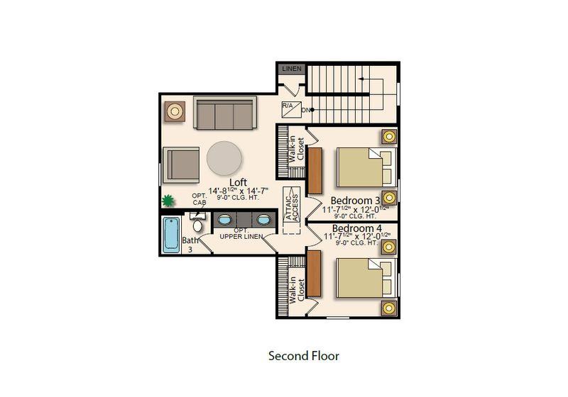 Augusta II Second Floor