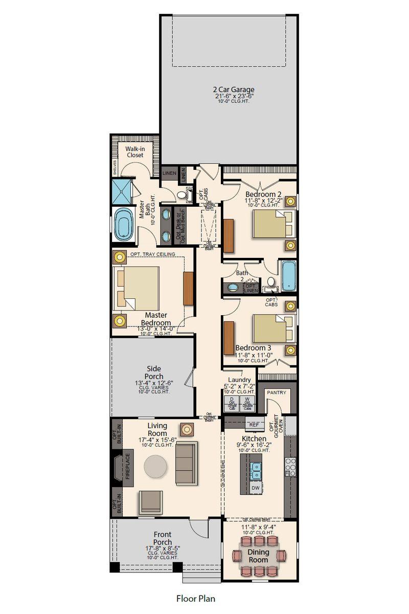 Minden Floor Plan