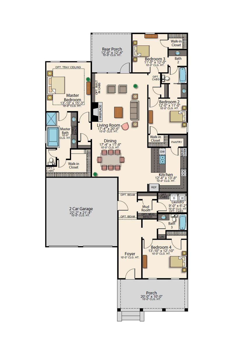 Kennedy Floor Plan