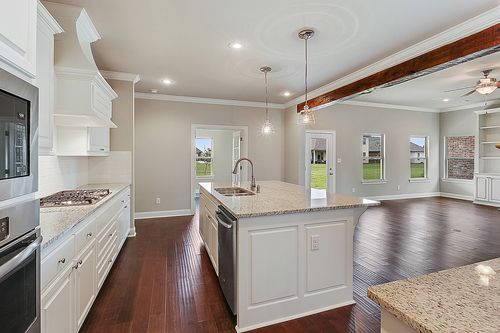 Kitchen-in-LaCroix-at-Cypress Landing at The Island-in-Plaquemine