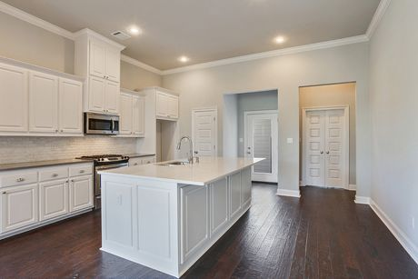 Kitchen-in-Columbia II-at-Americana by Level Homes-in-Zachary