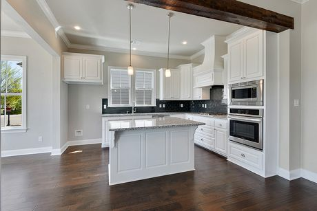 Kitchen-in-Baringer-at-Americana by Level Homes-in-Zachary
