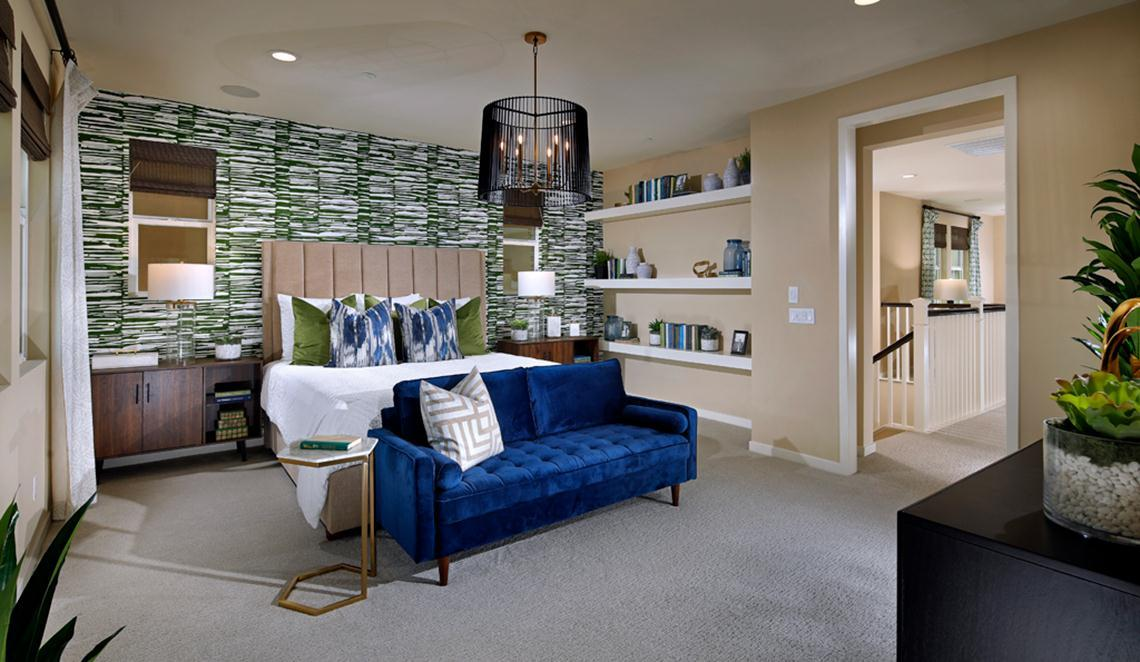 Bedroom featured in the Residence 2 by Taylor Morrison By Park Place
