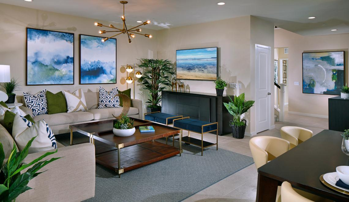 Living Area featured in the Residence 2 by Taylor Morrison By Park Place