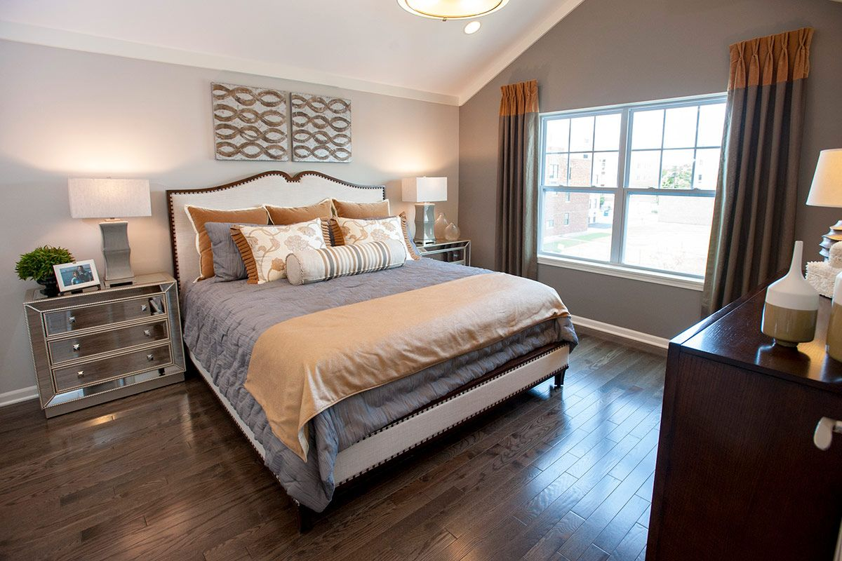 Bedroom featured in The Warrington By Lexington Homes in Chicago, IL
