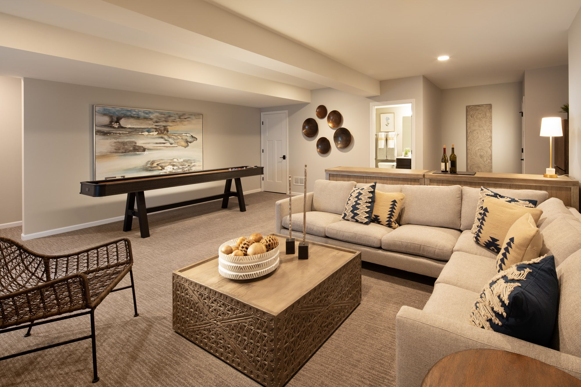 Living Area featured in The Summit By Lexington Homes in Chicago, IL
