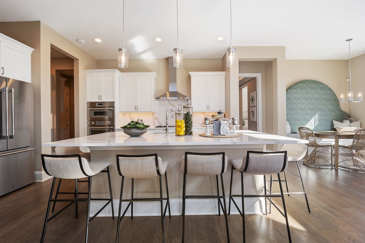Kitchen featured in The Sonoma By Lexington Homes in Chicago, IL