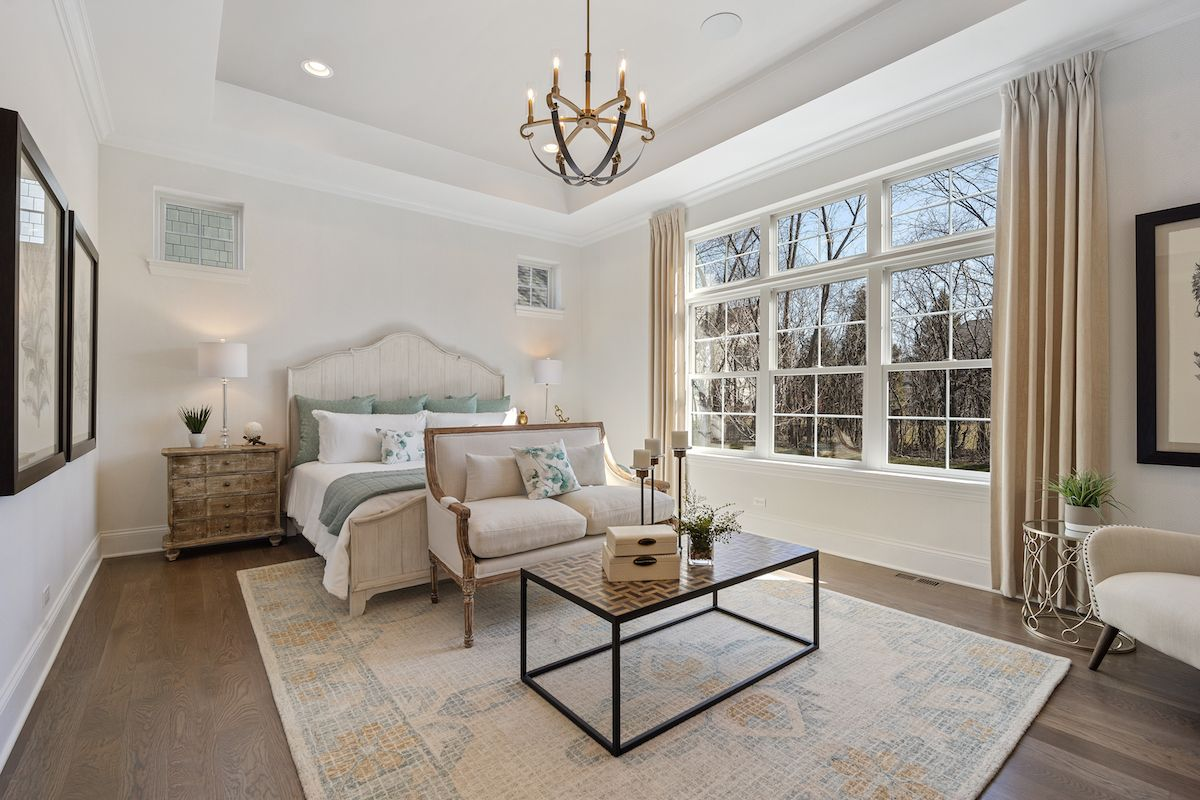 Bedroom featured in The Sonoma By Lexington Homes in Chicago, IL