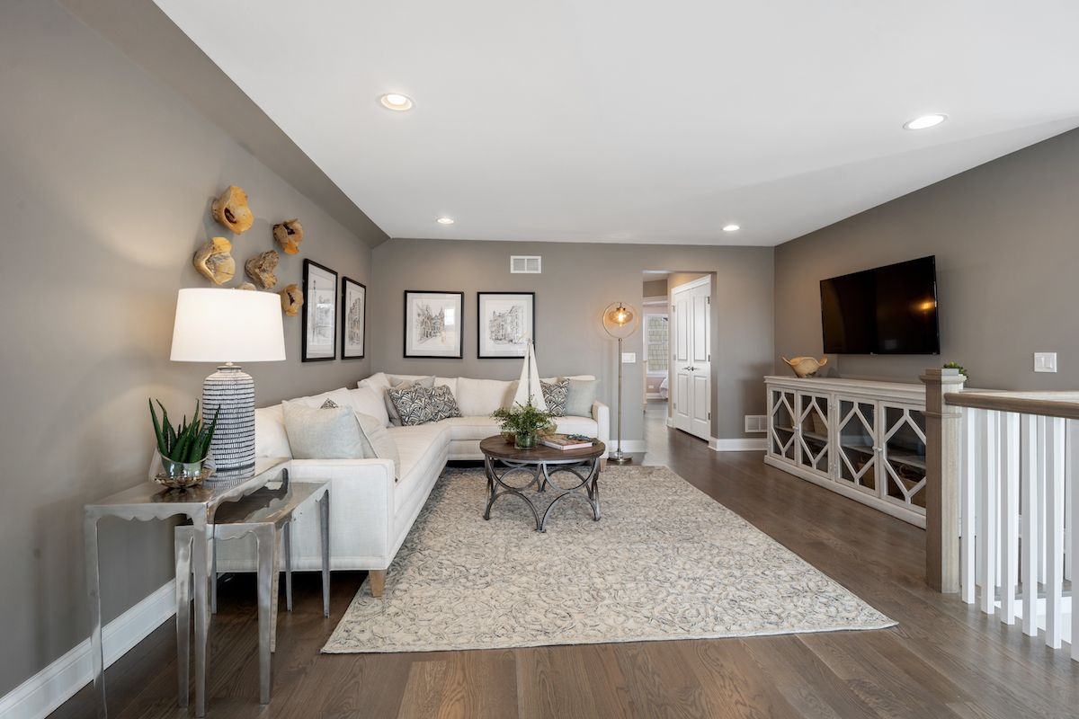 Living Area featured in The Sonoma By Lexington Homes in Chicago, IL