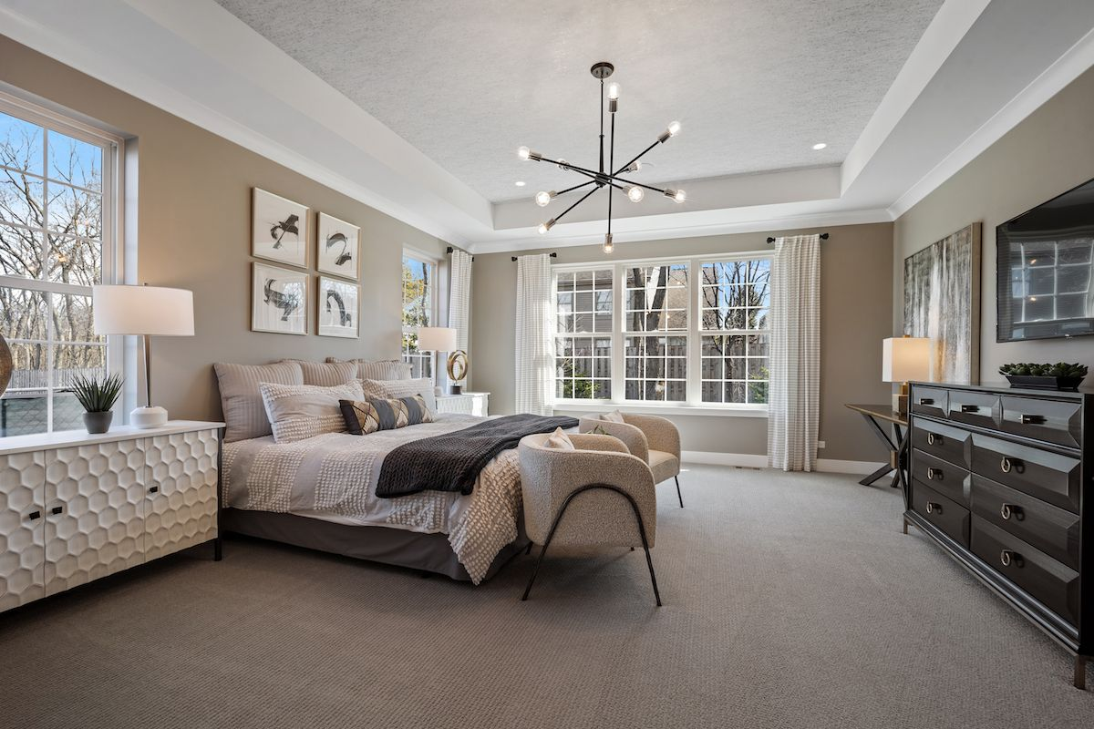 Bedroom featured in The Burgundy By Lexington Homes in Chicago, IL