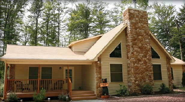 Tahoe with dormer:With added space in loft