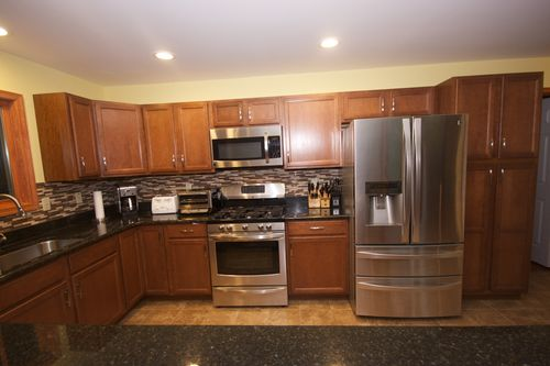 Kitchen-in-Lakewood-at-Liberty Homes Custom Builders-in-Pocono Lake
