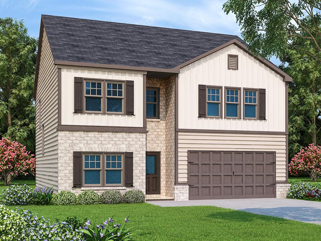 Exterior featured in the Jodeco  By Liberty Communities in Greenville-Spartanburg, SC
