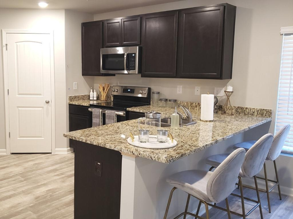 Kitchen featured in the Jodeco  By Liberty Communities in Greenville-Spartanburg, SC