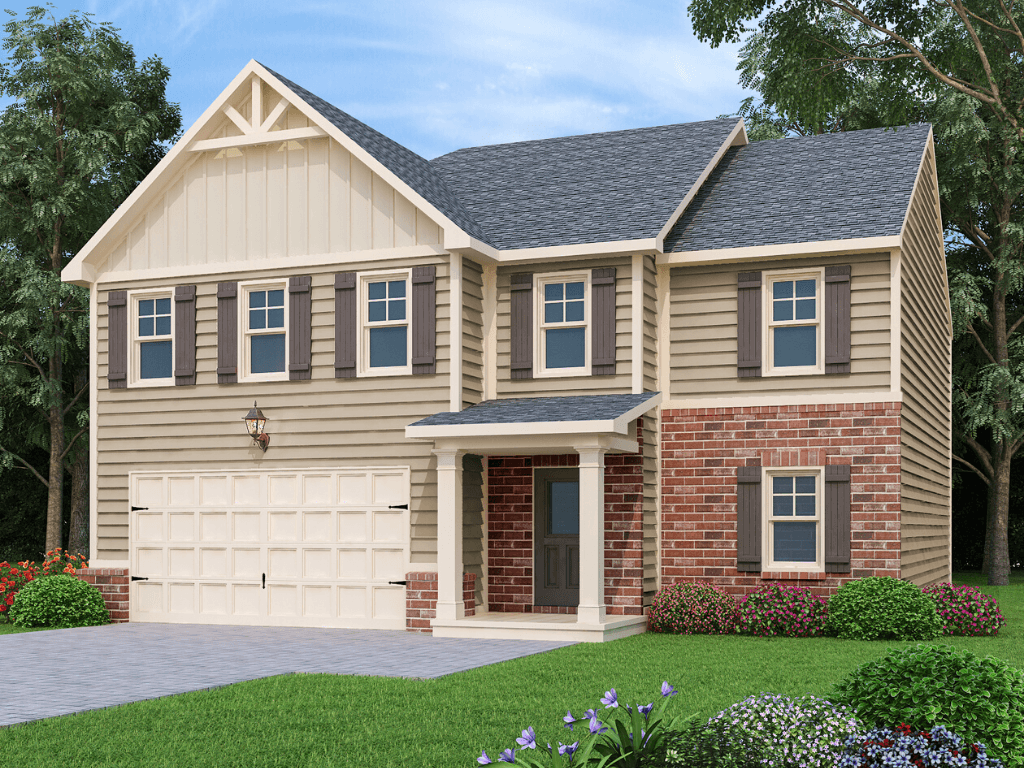 Exterior featured in the Tucker  By Liberty Communities in Atlanta, GA