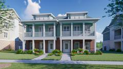 Townhouse 2-Story Front Porch