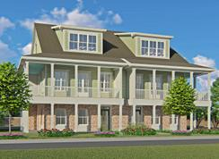 Three Story Front Porch Townhome - Living Dunes: Myrtle Beach, South Carolina - CRG Companies