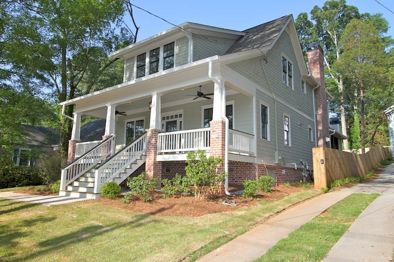 Exterior featured in the Plan 191 By Lockman Home Building in Atlanta, GA