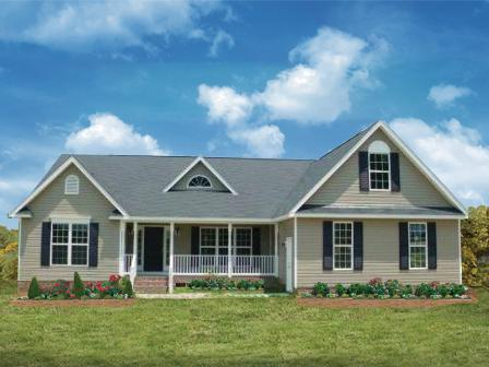 Exterior featured in The Bancroft By Lockridge Homes in Greenville-Spartanburg, SC
