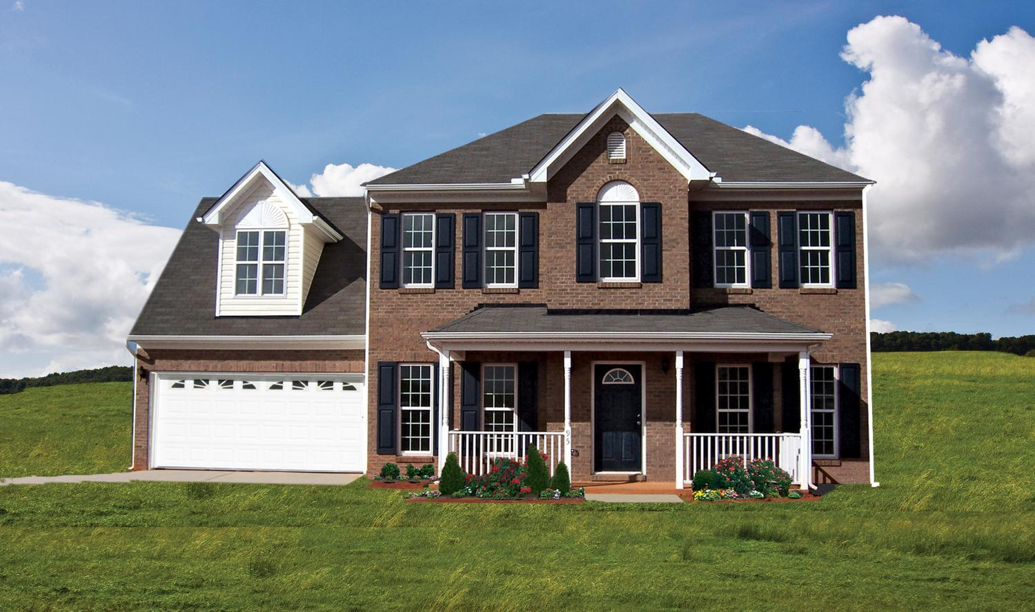 Exterior featured in The Birmingham 26 Gar 2 By Lockridge Homes in Raleigh-Durham-Chapel Hill, NC