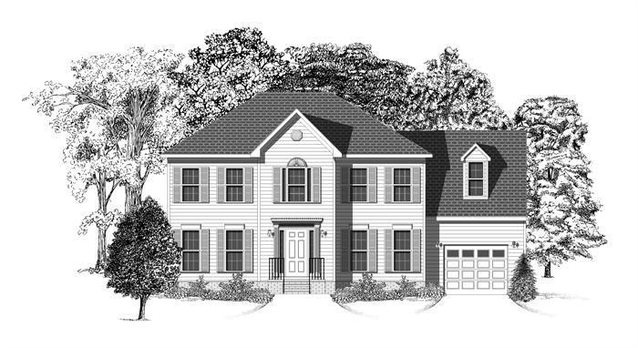 Exterior featured in The Birmingham 26 Gar 1 By Lockridge Homes in Raleigh-Durham-Chapel Hill, NC