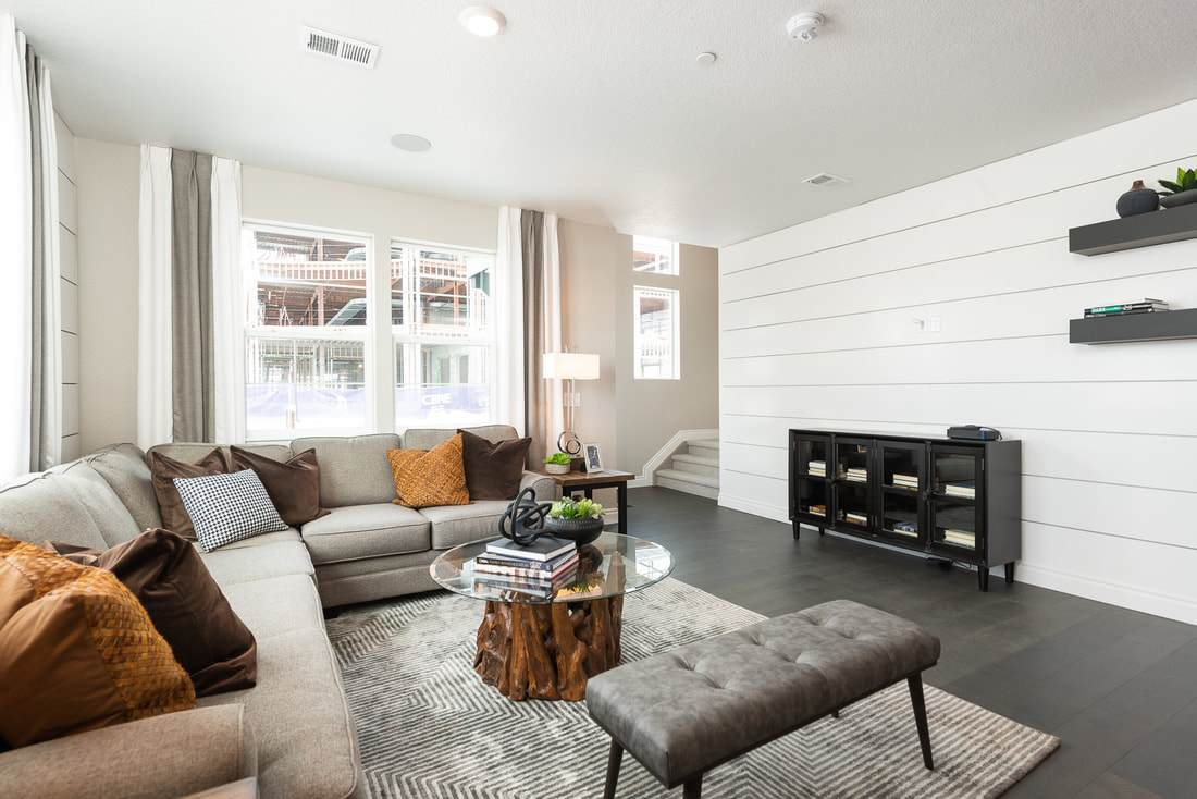 Living Area featured in the Everett By Lokal Homes in Colorado Springs, CO