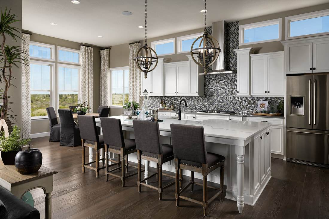 Kitchen featured in the Eve By Lokal Homes in Denver, CO