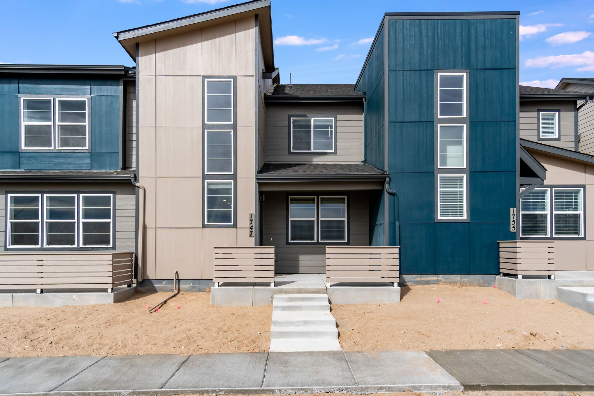 Exterior featured in the Hazel By Lokal Homes in Colorado Springs, CO