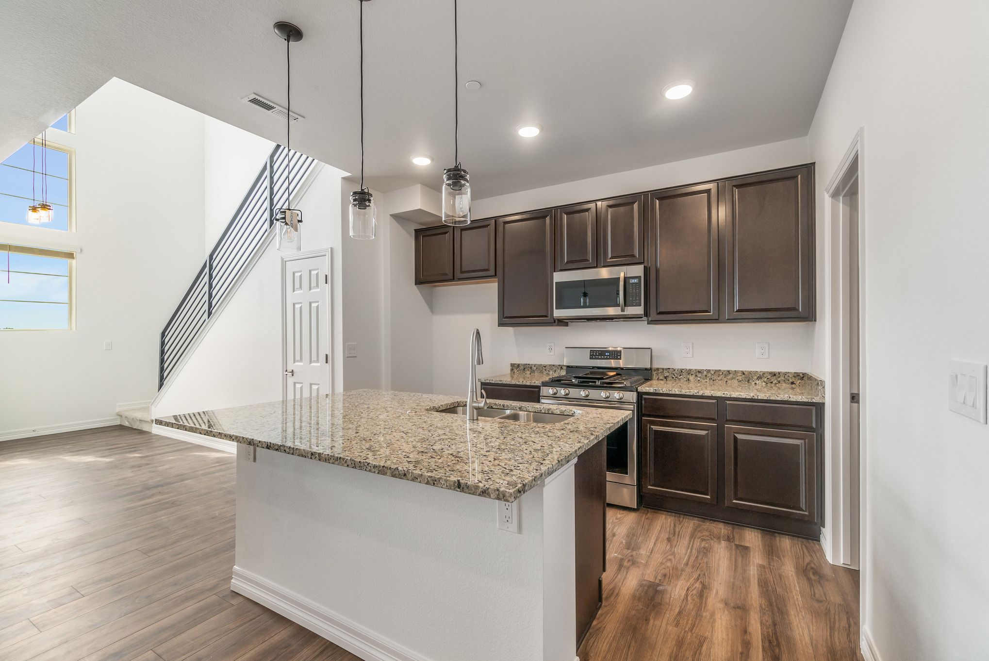Kitchen featured in the Hazel By Lokal Homes in Colorado Springs, CO