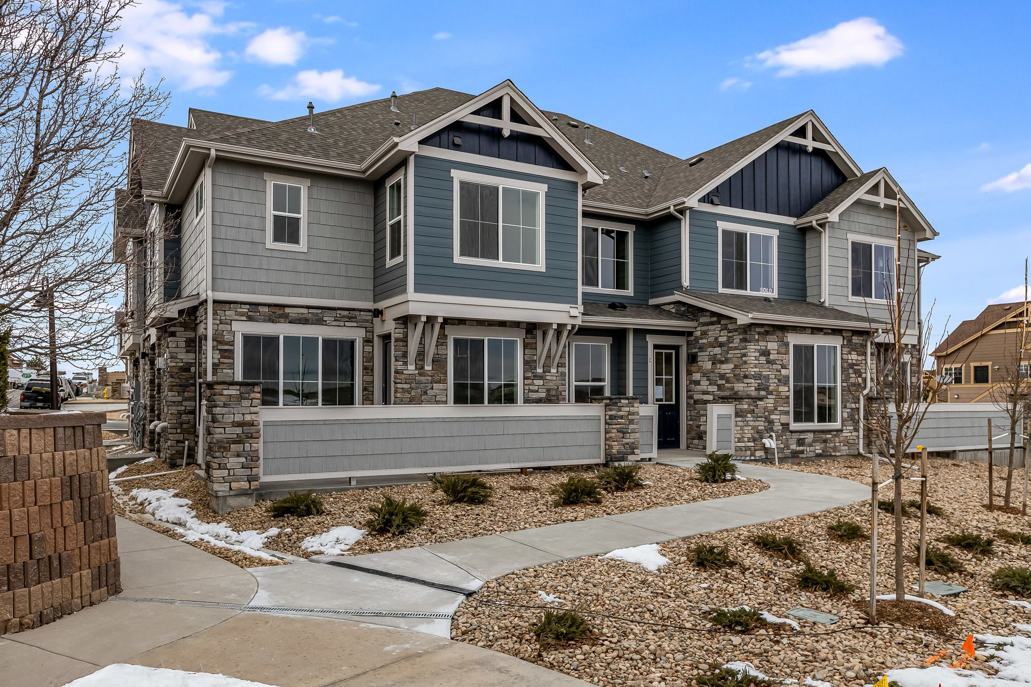 Exterior featured in the Callahan By Lokal Homes in Denver, CO
